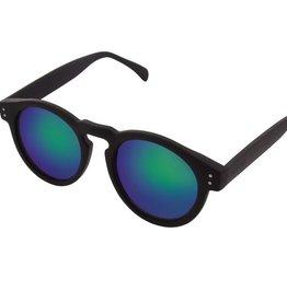 zonnebrillen KOMONO CLEMENT BLACK RUBBER