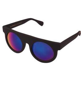 zonnebrillen KOMONO HIPPOLYTE BLACK RUBBER