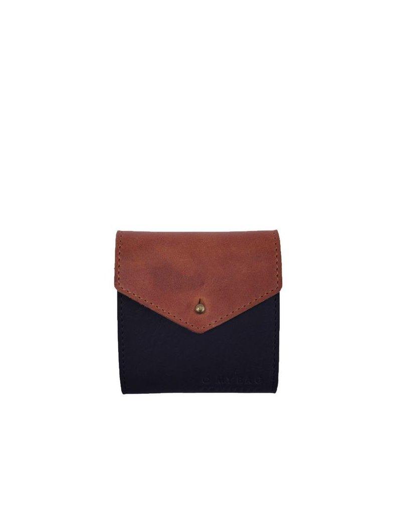 accessoires O MY BAG GEORGIE'S WALLET BLUE/CAMEL