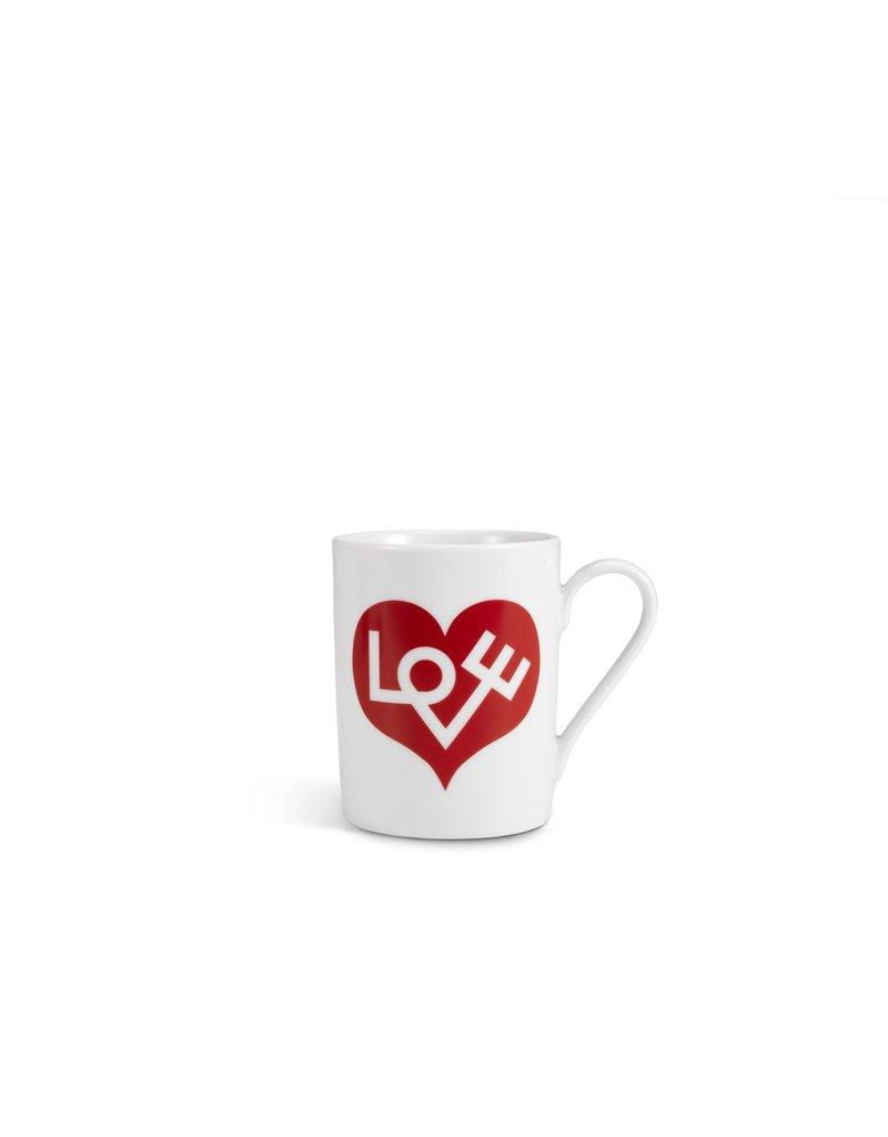 Keukengerei COFFEE MUG LOVE HEART RED