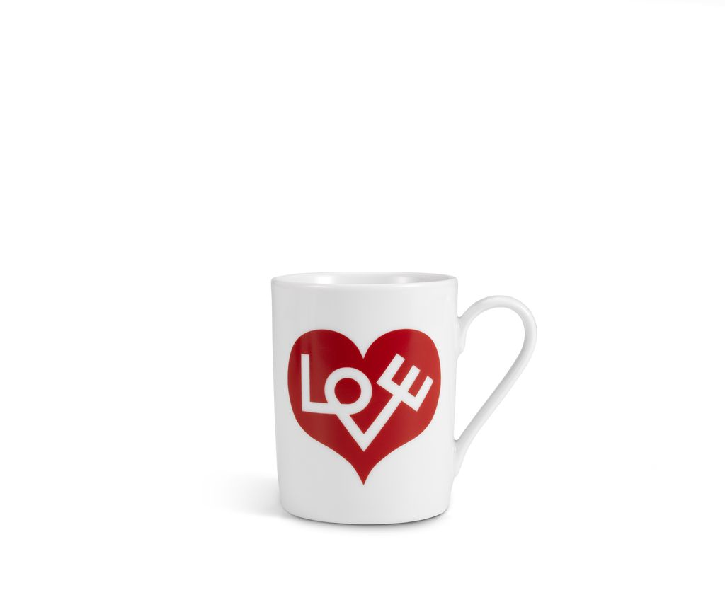 Keukengerei COFFEE MUG LOVE HEART RED