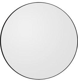 spiegels CIRCUM ROUND MIRROR BLACK