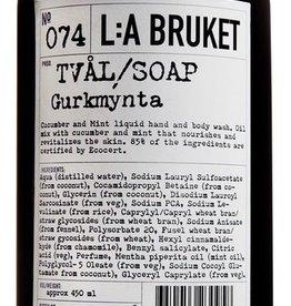ZEPEN & CREME LIQUID SOAP 450ML CUCUMBER MINT N°74