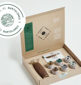 Keukengerei PEPPER EXPERIENCE BOXES BLACK/WALNUT