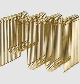 Gadgets Curva Magazine Holder Gold