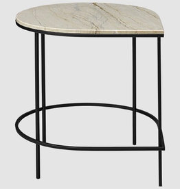 Tafels STILLA TABLE WITH MARBLE TOP SAND