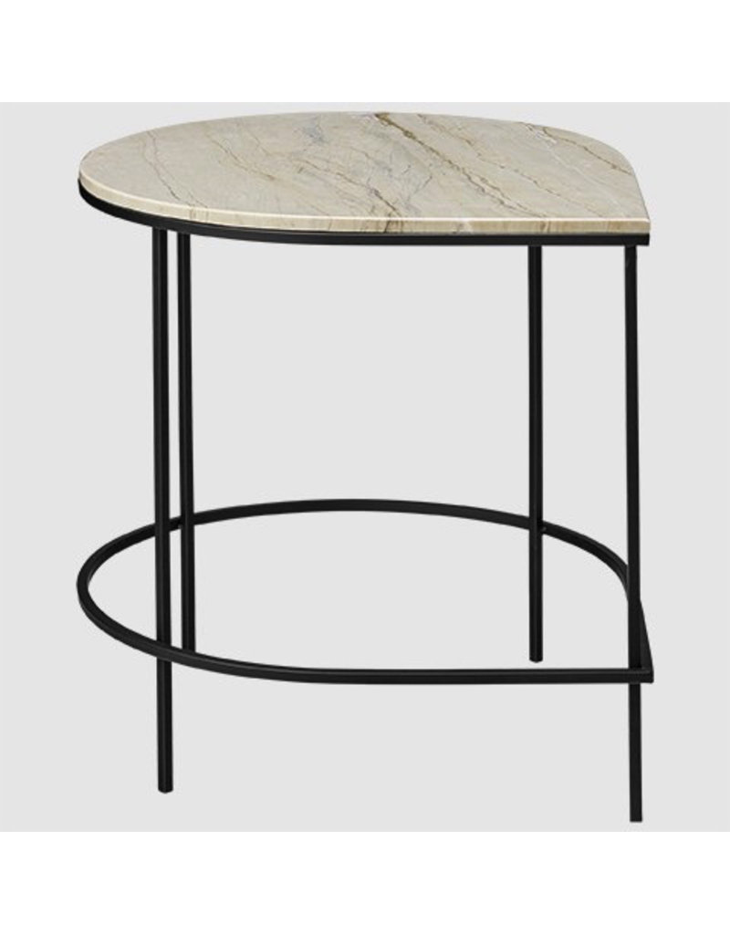 salontafel STILLA TABLE WITH MARBLE TOP SAND