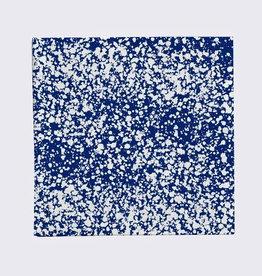textiel SPLASH COTTON NAPKINS BLUE (SET OF 4)