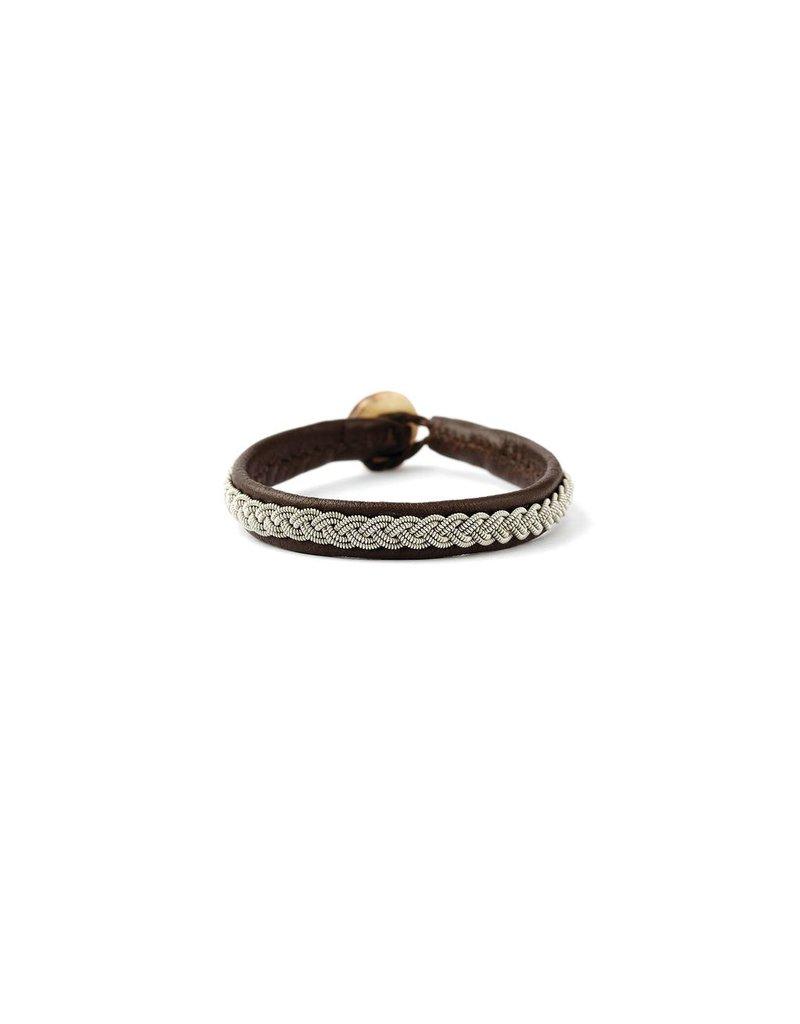 Juwelen CLASSIC DARK BROWN SIZE 20