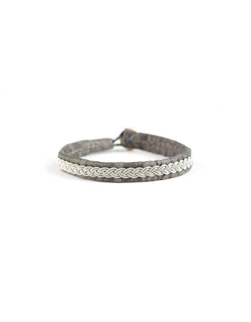 Juwelen CLASSIC CROCO GREY S18