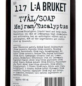 ZEPEN & CREME L:A BRUKET LIQUID SOAP MARJORAM/EUCALYPTUS 450ML N°117