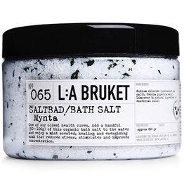 ZEPEN & CREME L:A BRUKET BATH SALT MINT 450GR N°65