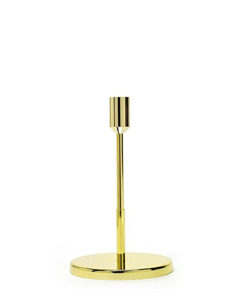 kaarshouders CANDLE HOLDER SMALL D12 H19 GOLD