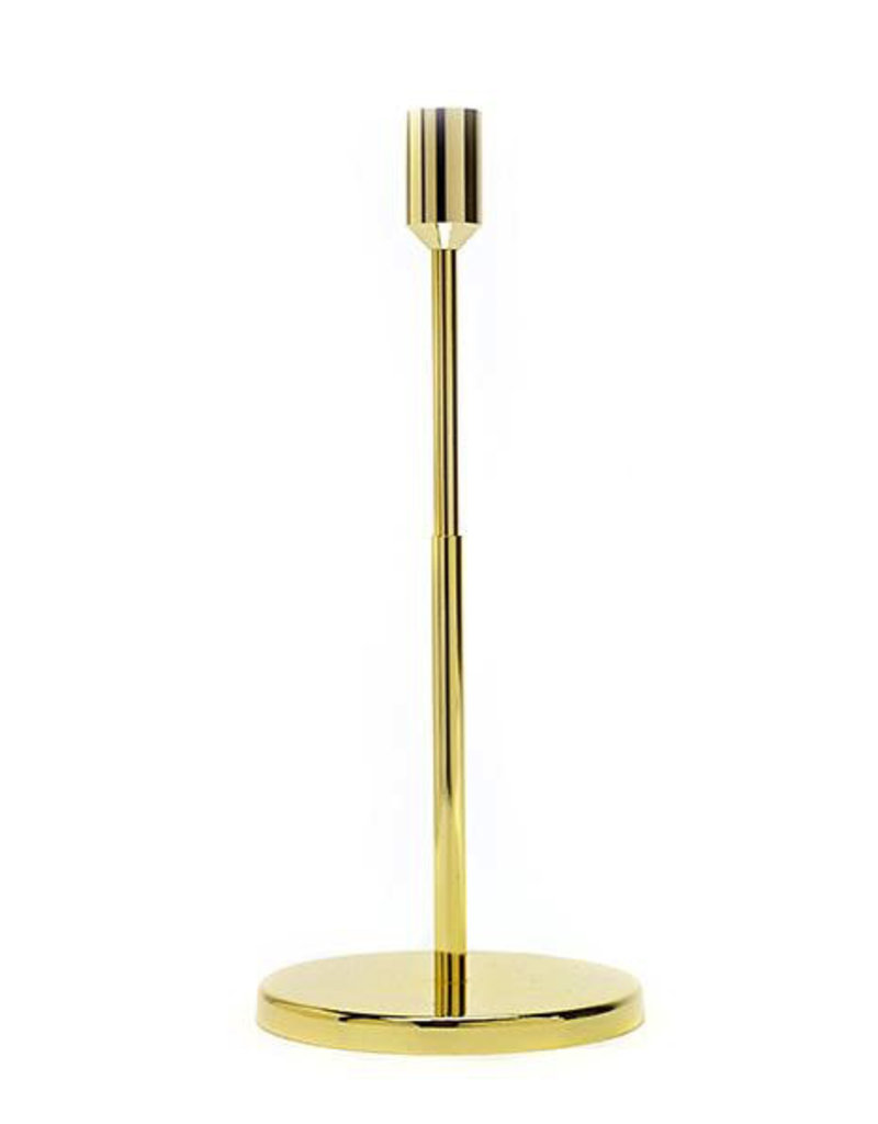 kaarshouders CANDLE HOLDER LARGE D12 H27 GOLD