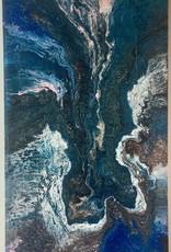 kunst Fluid Art Canvas Cotton 80x40cm
