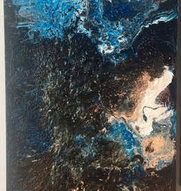 kunst Fluid Art Cancas Cotton 80x40cm