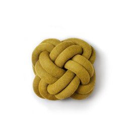 kussens KNOT YELLOW