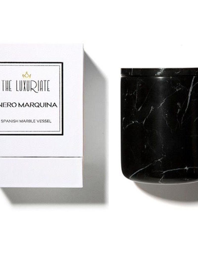 Kaarsen BLACK MARBLE CANDLE HOLDER
