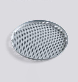 Dienbladen PERFORATED TRAY L DUSTY BLUE 35CM