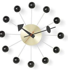 klokken BALL CLOCK ZWART/MESSING