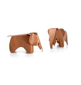 decoratie EAMES ELEPHANT PLYWOOD AMERICAN CHERRY