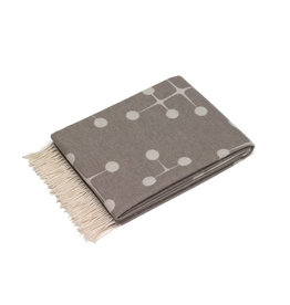 textiel EAMES WOOL BLANKET TAUPE