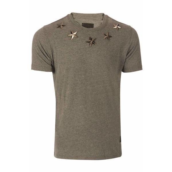 Conflict Stars T-Shirt Grey L