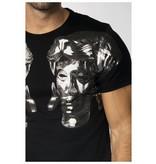 My Brand My Brand Double Roman Head T-Shirt