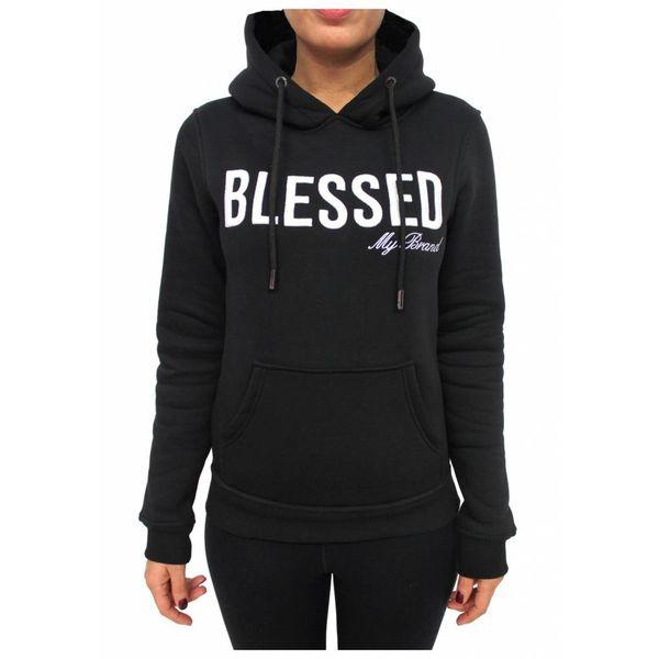 My Brand Blessed Hoodie Black Women