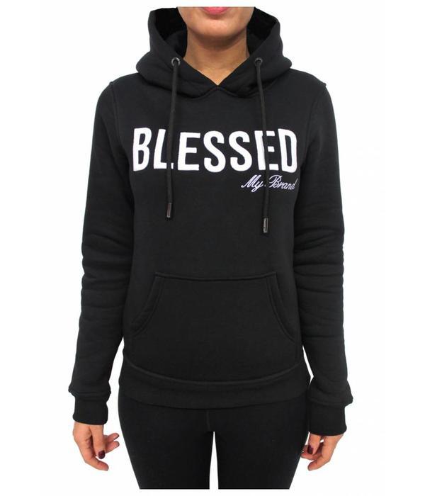 My Brand My Brand Blessed Hoodie Black Women