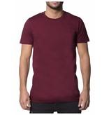 My Brand My Brand Basic Logo T-Shirt Burgundy