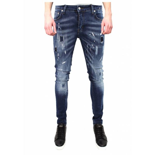 My brand jack 026 stain paint jeans