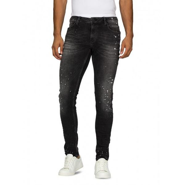 Purewhite PW0043 Jeans Black Spotted