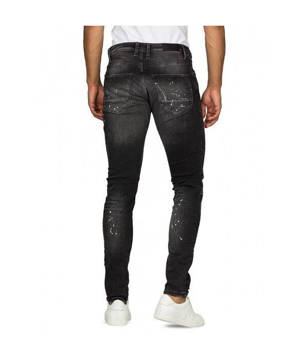 Purewhite Purewhite PW0043 Jeans Black Spotted