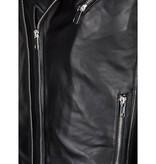 Purewhite Purewhite Leather Jacket Black 18010408