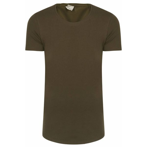 Purewhite T-shirt Dark army