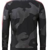 Conflict Conflict Sweater Camo Black