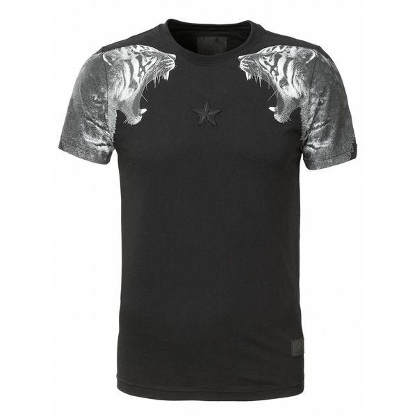 Conflict Tiger T-Shirt Zwart