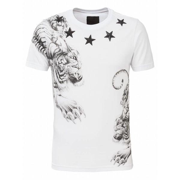 Conflict Yakuzza White T-Shirt