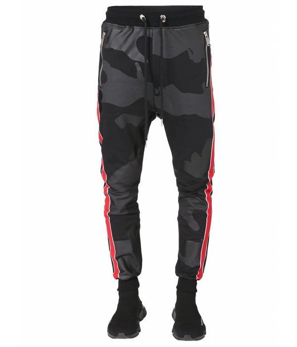 Conflict Camo Jogger Black