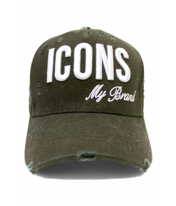 My Brand My Brand Icons logo Cap One Size Army