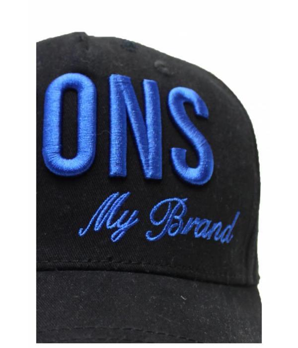 My Brand My Brand Icons Logo Cap One size Kobalt Blue
