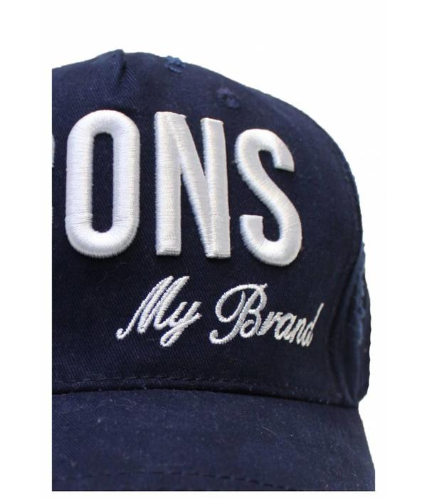 My Brand My Brand Icons Logo Cap One Size Navy