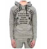 My Brand My Brand Del Mundo Hoodie Grey