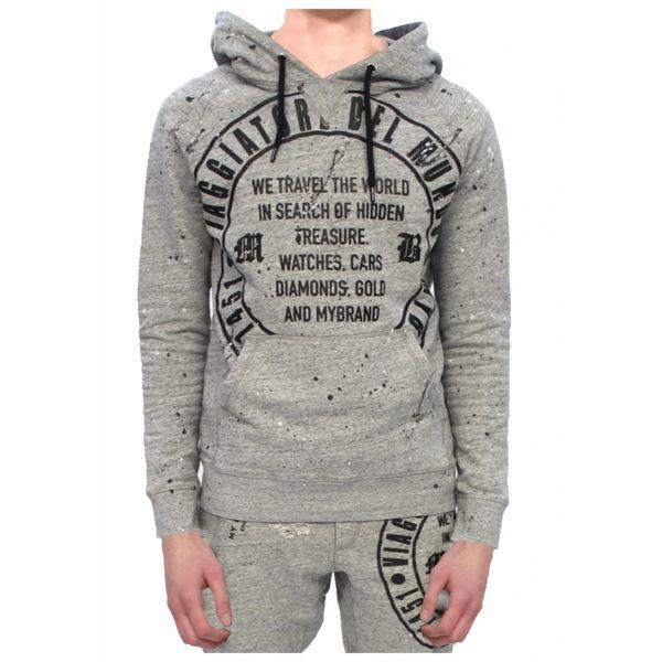 My Brand Del Mundo Hoodie Grey