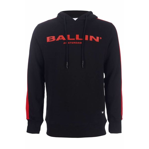 Purewhite ballin hoodie Black/Red