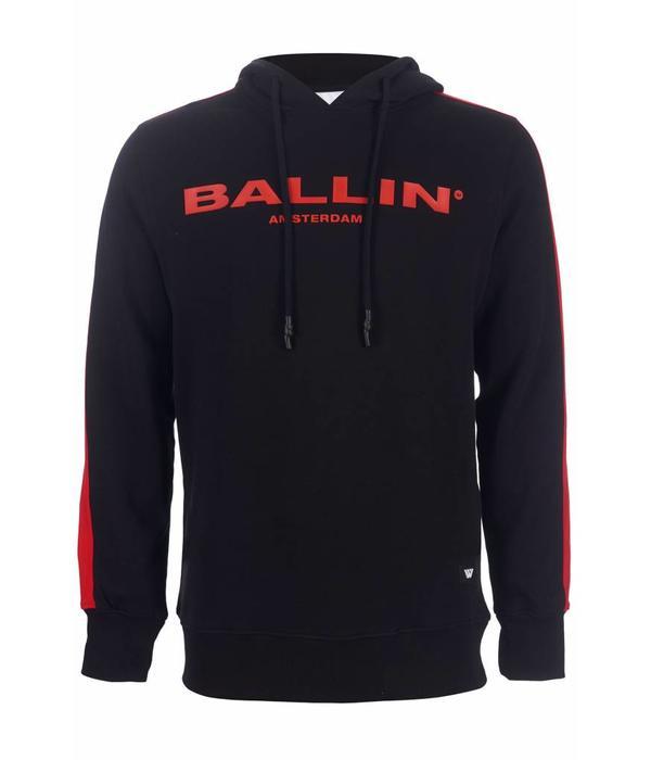 Purewhite Purewhite ballin hoodie Black/Red