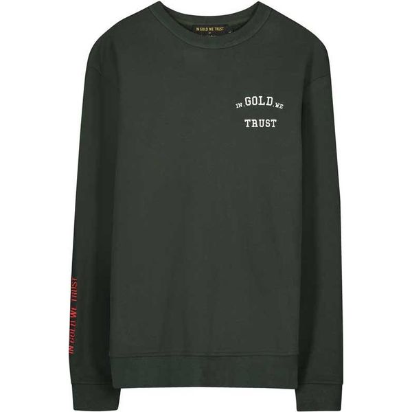 IGWT Full Embo Sweater Army