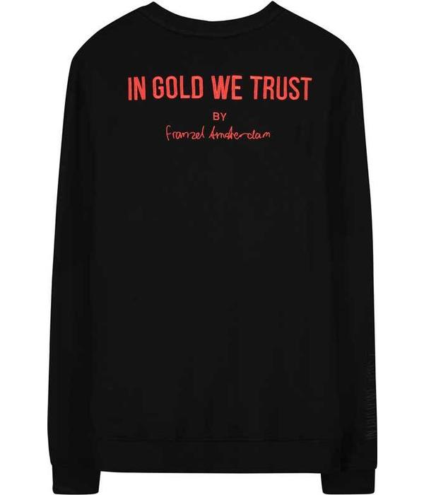 In Gold We Trust IGWT PLAIN LOGO SWEATER