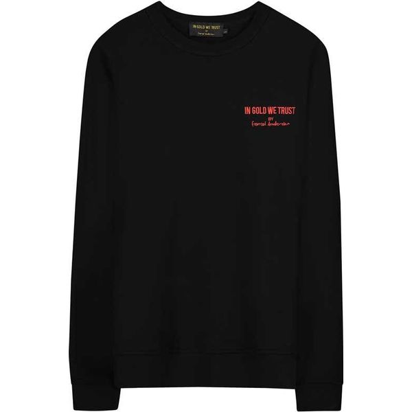 IGWT PLAIN LOGO SWEATER